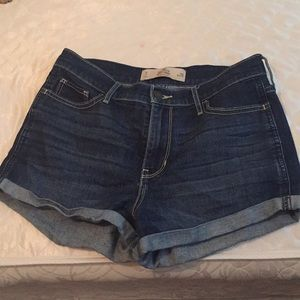 High rise shorts (worn once )